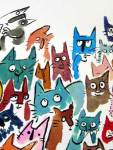 Viviane Schwarz's many cats